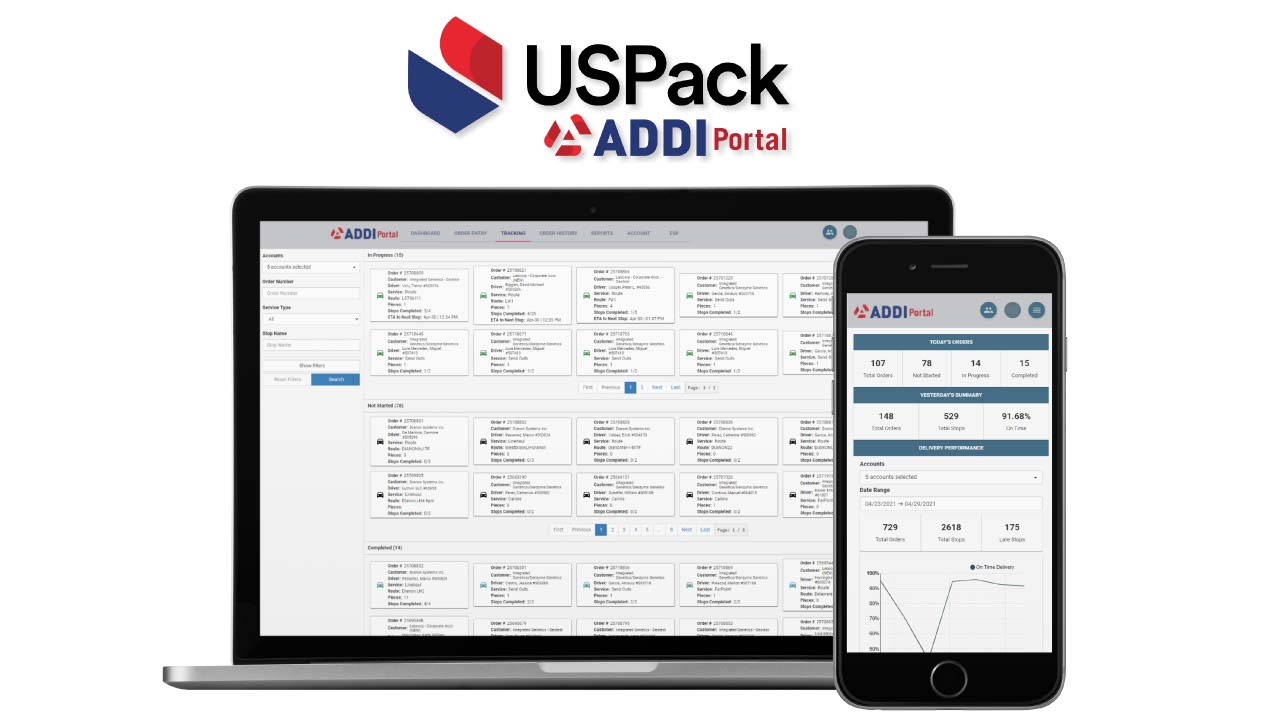 USPack Launches New Delivery Portal for Customers