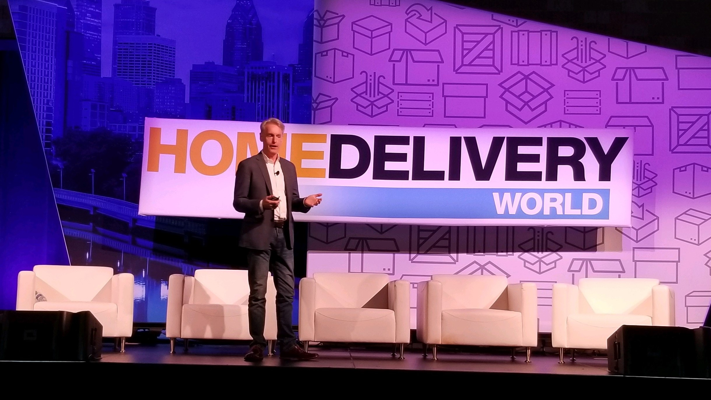 CRO, Dan Byrne Discusses Large Parcels at Home Delivery World ahead of Peak Season 2021